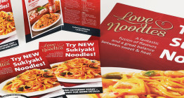 Food marketing and design for ethnic food brand.