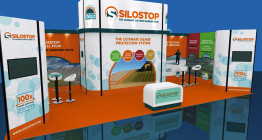 Exhibition design for Silostop agriculture company - The Finishing Post Design & Marketing, Suffolk design agency, East Anglia, Bury St Edmunds.