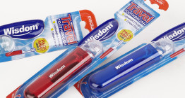 Travel toothbrush packaging design