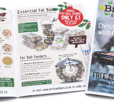 Winter Edition of Birds & Bees Catalogue