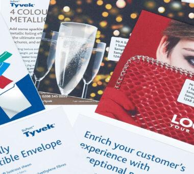 Bong Tyvek® envelopes direct mail campaign