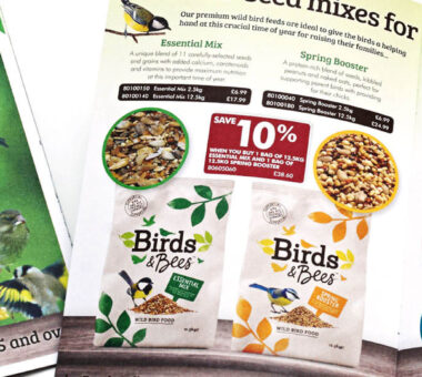 Birds & Bees Spring edition of mail order catalogue