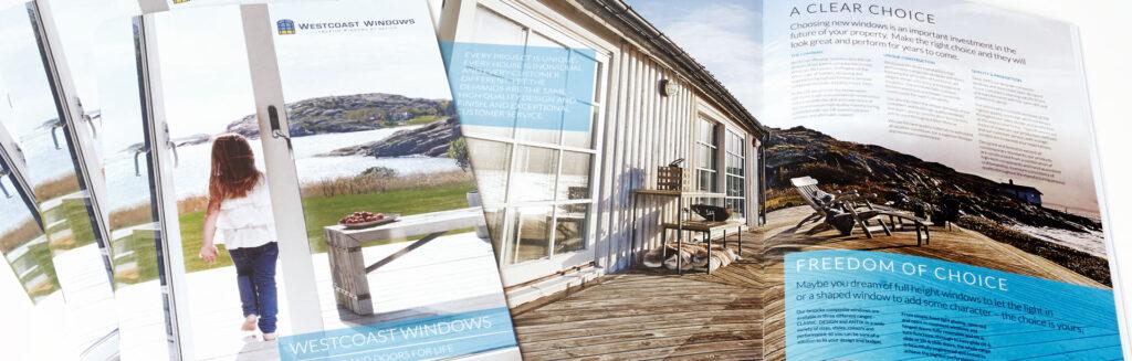 Westcoast Windows customer brochure