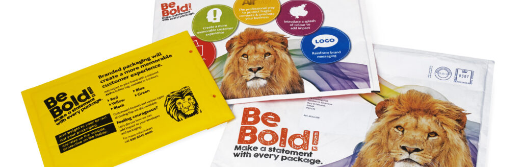 BONG PRINTED BUBBLE BAGS DIRECT MAIL CAMPAIGN