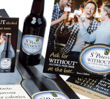 St Peter's Brewery WITHOUT® Point of Sale kit