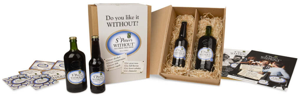 St Peter's Brewery WITHOUT® launch press pack