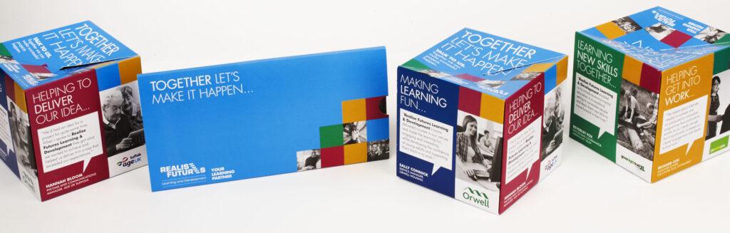 Realise Futures adult learning courses promotion