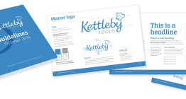 Corporate Identity and guidelines for Kettleby Foods by The Finishing Post, Suffolk branding agency