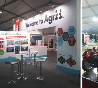 Agrii exhibition stand for LAMMA event
