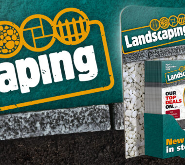 Ridgeons Landscaping branding, literature and point of sale