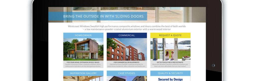 Westcoast Windows website refresh