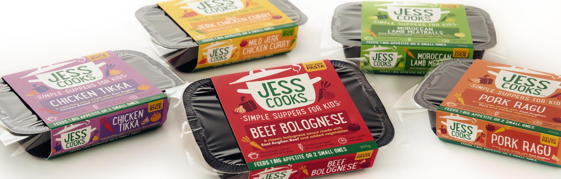 packaging design for food start up