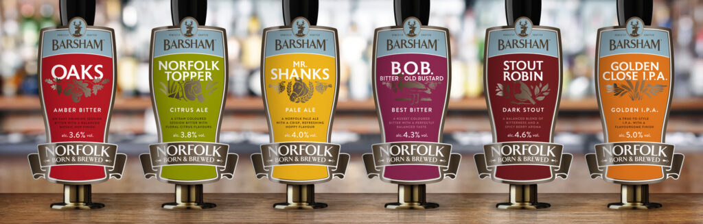 Barsham Brewery Point of Sale design