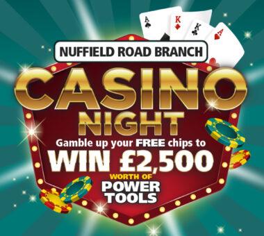 Huws Gray Ridgeons Casino Night