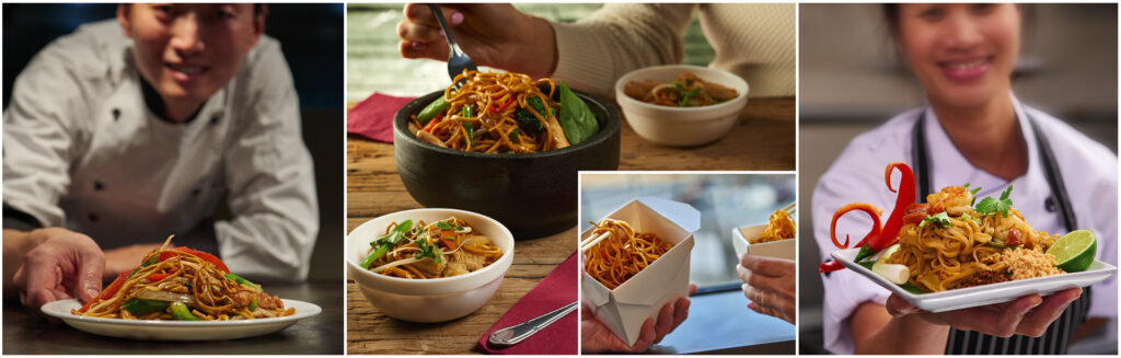 Lucky Boat Noodles Awareness Campaign Photography