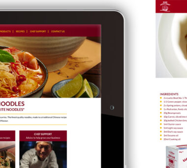 Lucky Boat Noodles Awareness Campaign Website