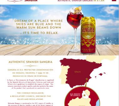 Solsueño Sangria Website Design