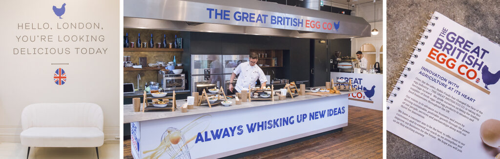 Noble Foods – The Great British Egg Co. product launch event
