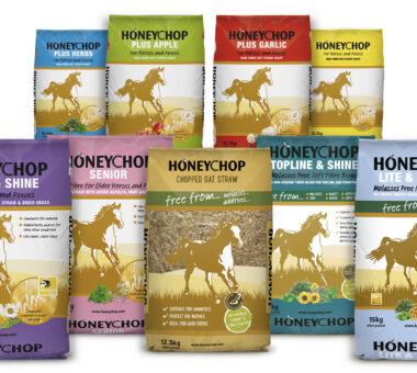 Honeychop packaging design