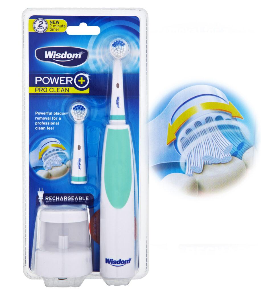 Wisdom Power+ Pro Clean packaging design