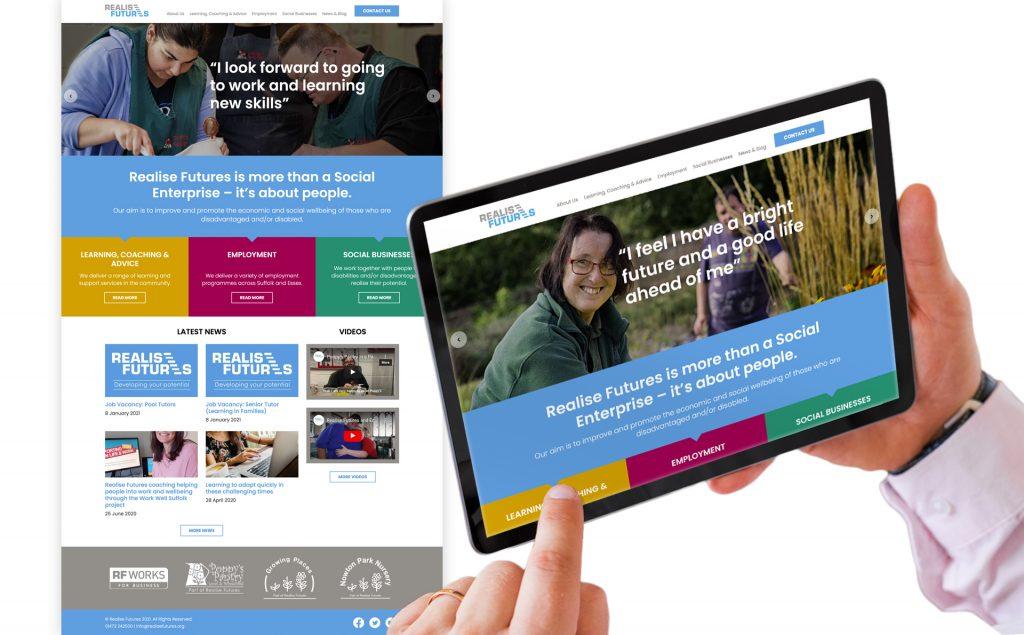 Realise Futures corporate website
