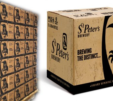 St Peter's Brewery outer packaging design