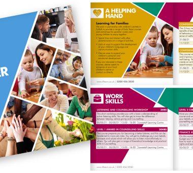 Realise Futures Learning & Development brochure design